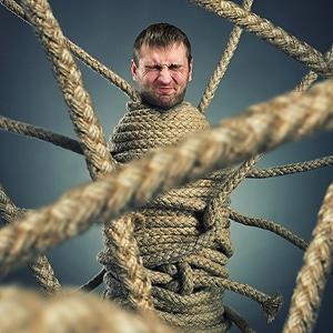 Bondage mit Seilen