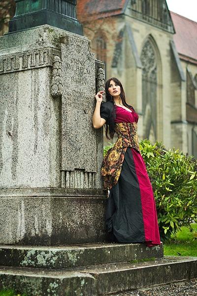 Mittelalterliche Lady